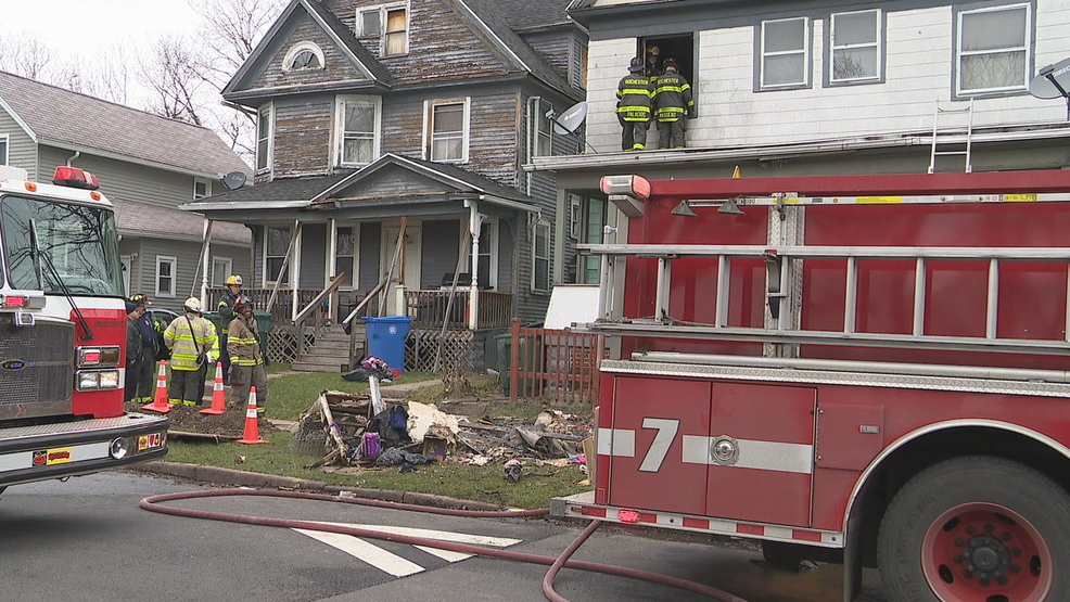 Candle caused fire at family home on Bartlett Street   WHAM
