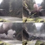 Boulder blocking highway blown up | VIDEO