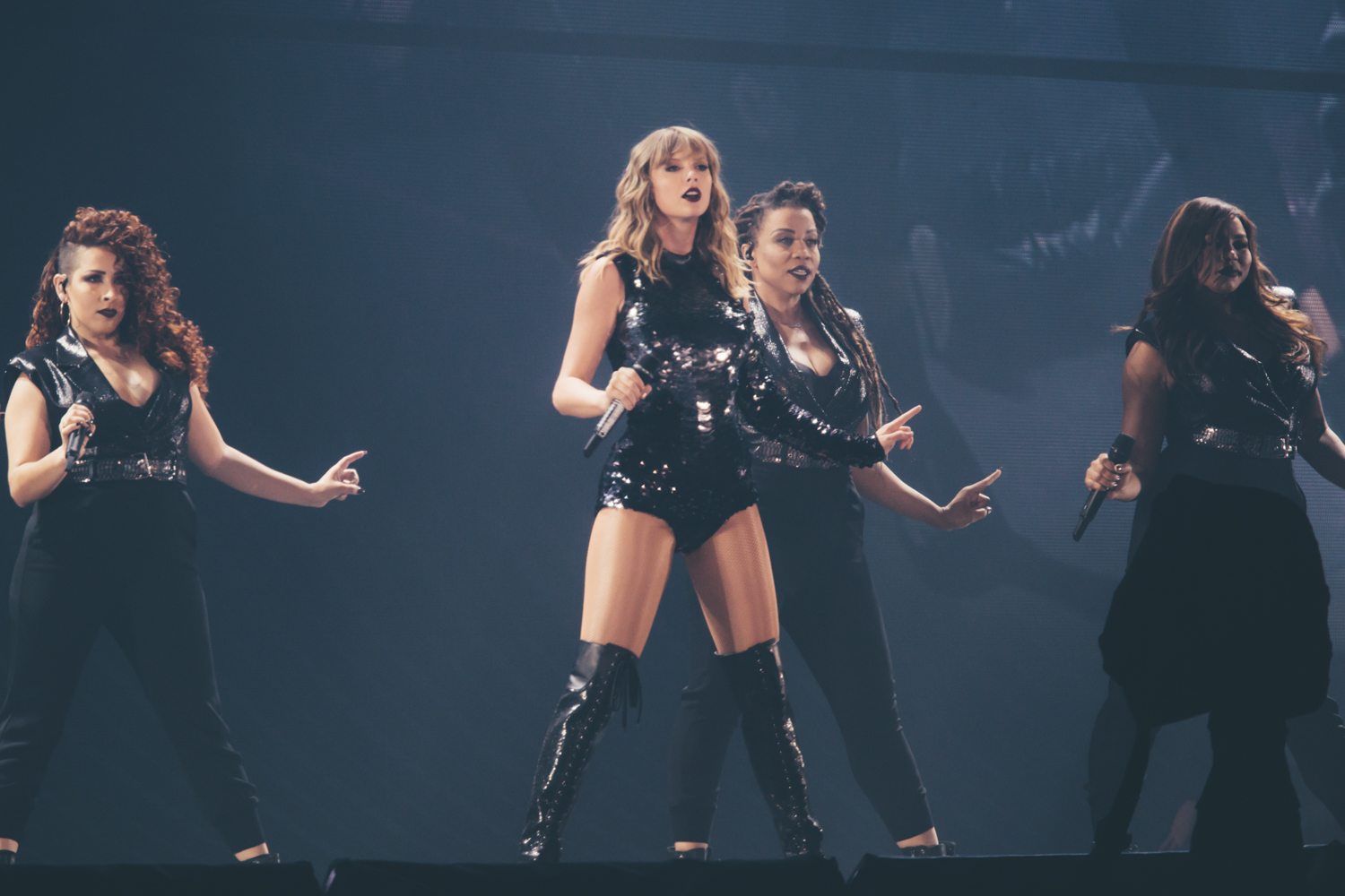 <p>Taylor Swift brought her &quot;Reputation&quot; tour to CenturyLink tonight (May 22, 2018). Over 60,000 people were expected to be in and around the SoDo area in Seattle. Despite the traffic, it was everything we could have ever imagined! (Image: Sunita Martini / Seattle Refined)</p>