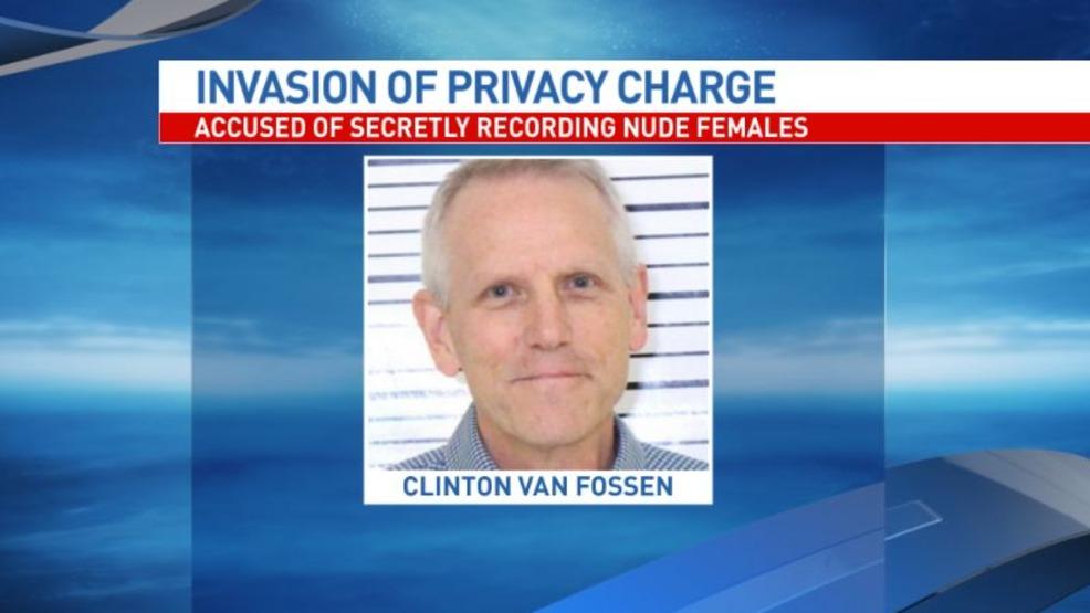 Davenport teacher accused of secretly recording naked