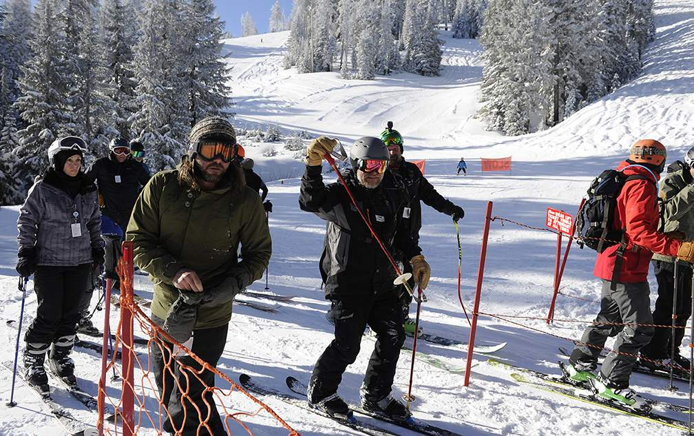 Mt Ashland reopens Friday morning with three chairlifts and fresh powder. - Andy Atkinson