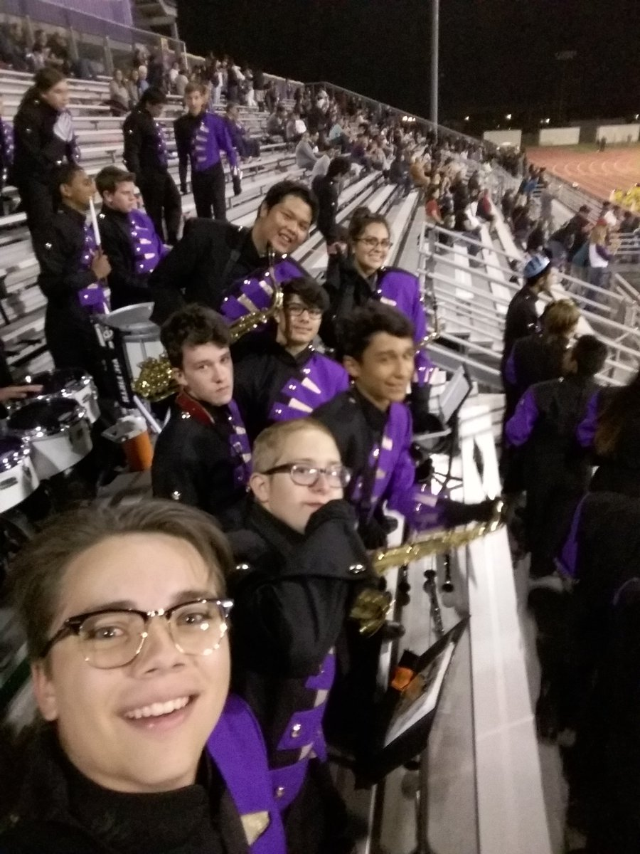 Sax Section plus one clarinet at Durango H.S. 11/04/16  (Patryk Plackiewicz)