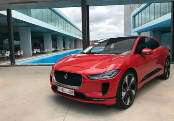 2019 Jaguar I-Pace:  Has an EV ever looked so good, or been so fast and capable?