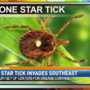 Lone Star Tick invades Southeast