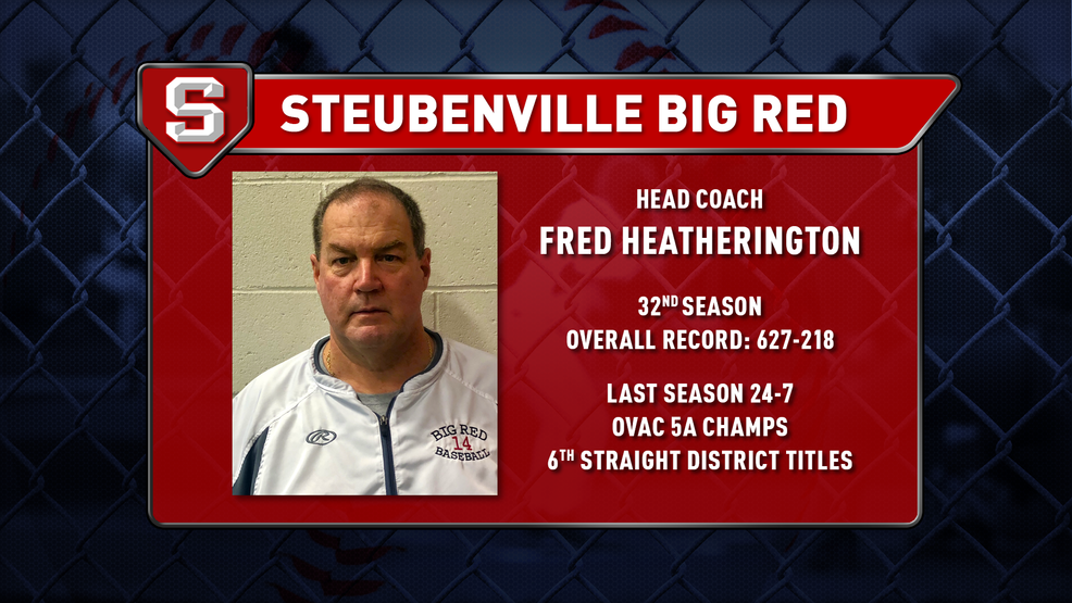 High school baseball preview - Steubenville Big Red