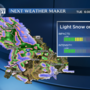 Wintry mix of rain and snow this week