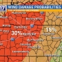 CODE RED: Damaging wind, large hail possible in Middle Tennessee