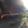 Fire destroys carport south of Forest Grove