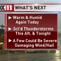 Storm Watch: Could see damaging winds and large hail