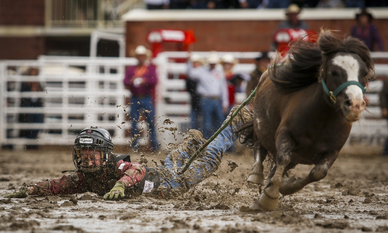 Fun In The Mud At The Calgary Stampede Kval