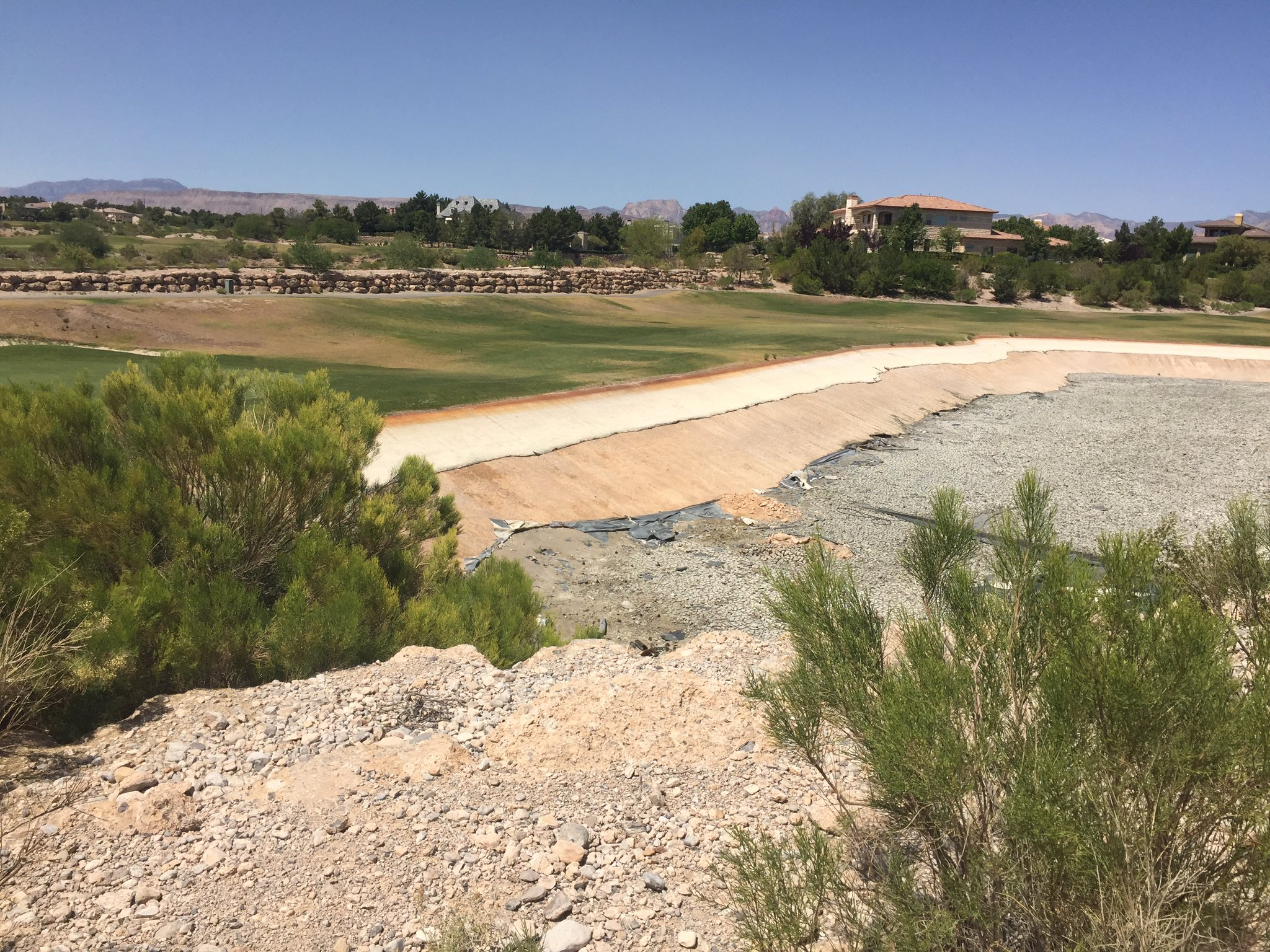 Here's a Ward Two election issue: the closed Badlands golf course. Incumbent Beers says the city can't stop development. (Jeff Gillan | KSNV)