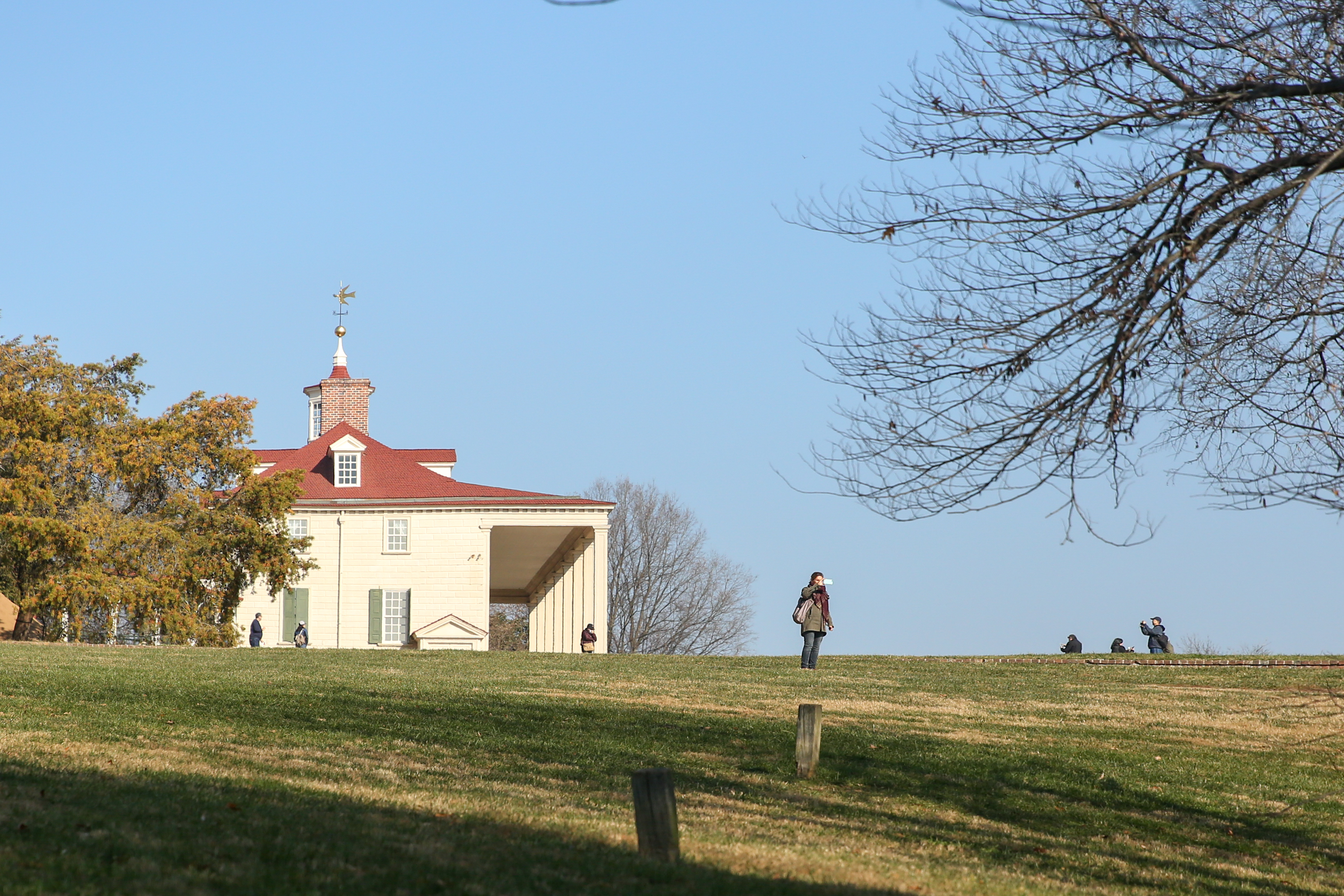 Mount Vernon features extensive grounds and an interactive museum for when you want to escape the cold. Located in Alexandria, it's a perfect way to spend a few hours and learn about history. Adult tickets are $18. (Amanda Andrade-Rhoades/DC Refined)