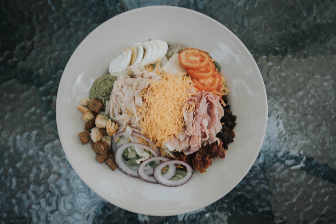 Cobb Salad / Image: Brianna Long // Published: 9.2.17