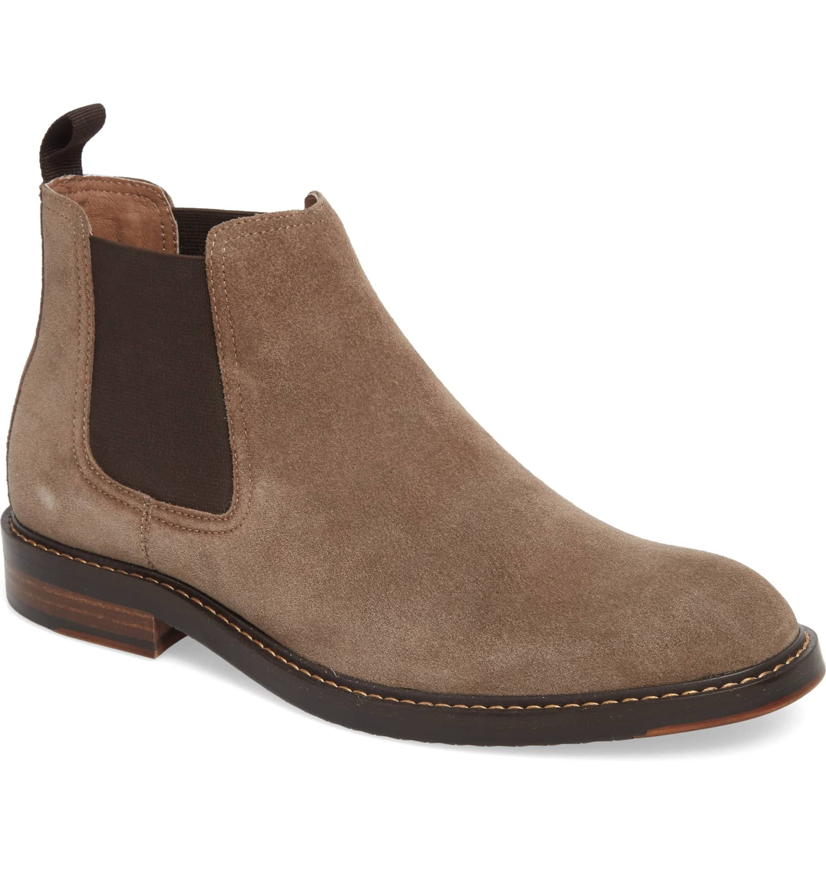 Brooks Chelsea Boot, $124.95.{ }The men in our lives work hard! Gift them something they'll feel appreciated in this holiday season! (Image courtesy of Nordstrom).