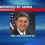 Manchin receives endorsement from United Mine Workers of America