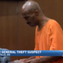 Dollar General theft suspect arraigned