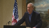 Illinois governor makes re-election bid official with video