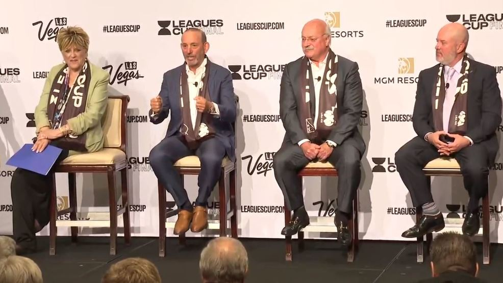 SOCCER: Leagues Cup Final will be played in Las Vegas