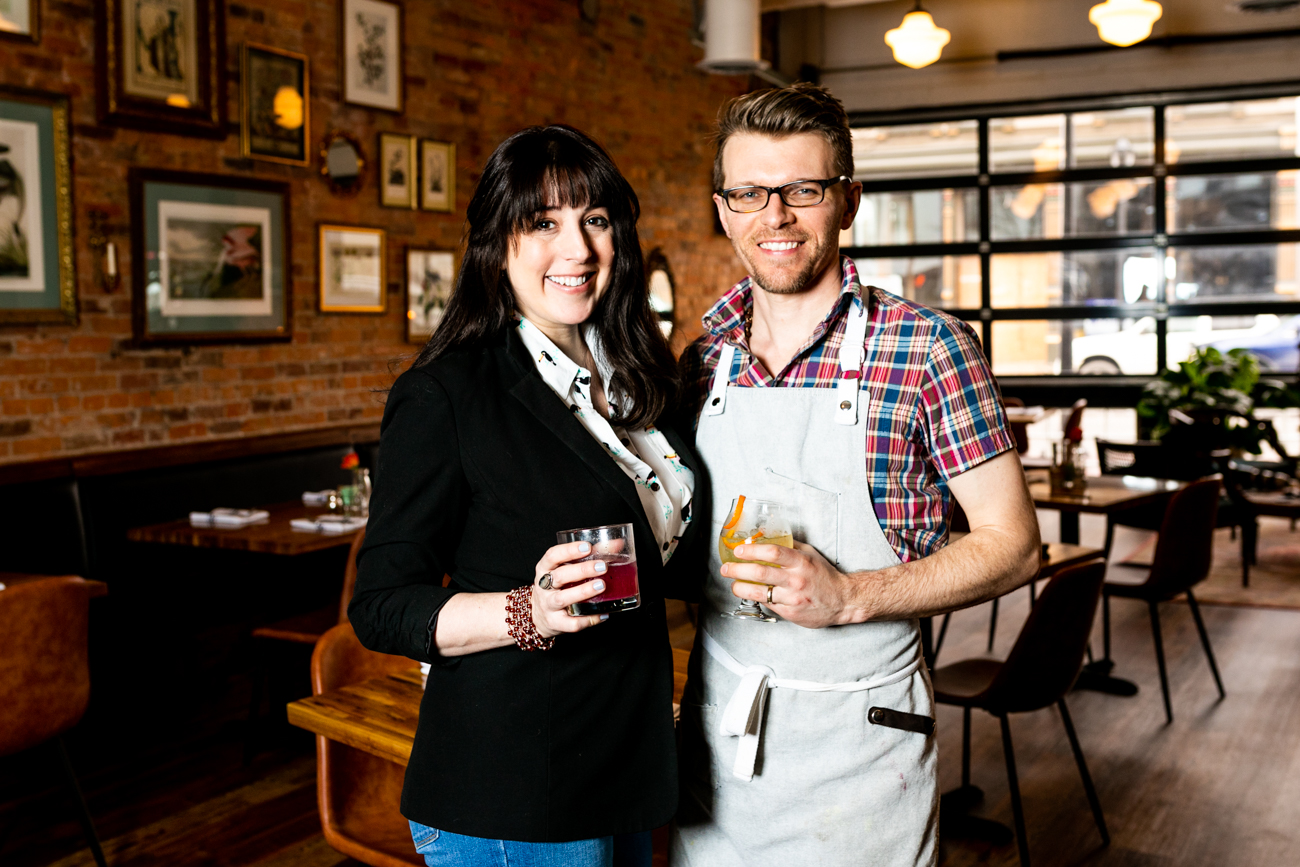 The Baker's Table owners Wendy Braun and her husband Dave Wilcocks{ }/ Image: Amy Elisabeth Spasoff // Published: 3.14.19