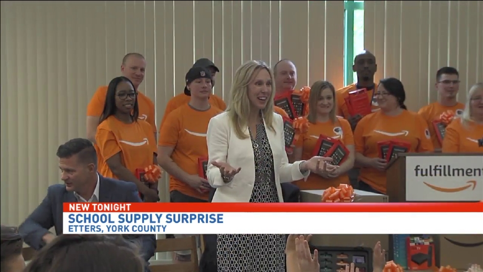 Amazon Donates New Technology And Supplies To Red Mill