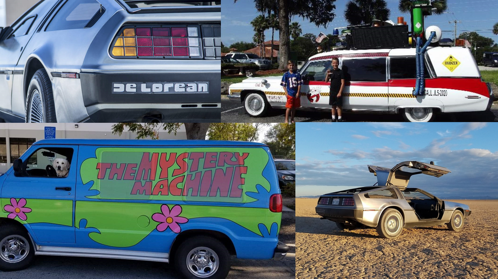 You can rent DeLorean DMC, Ecto-1, Mystery Machine in time for Halloween