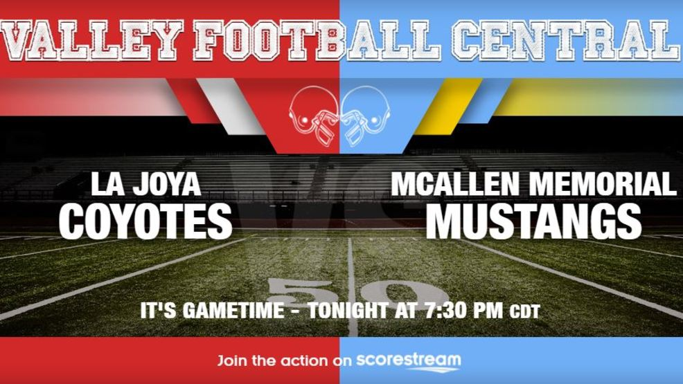 Listen Live: La Joya Coyotes at McAllen Memorial Mustangs