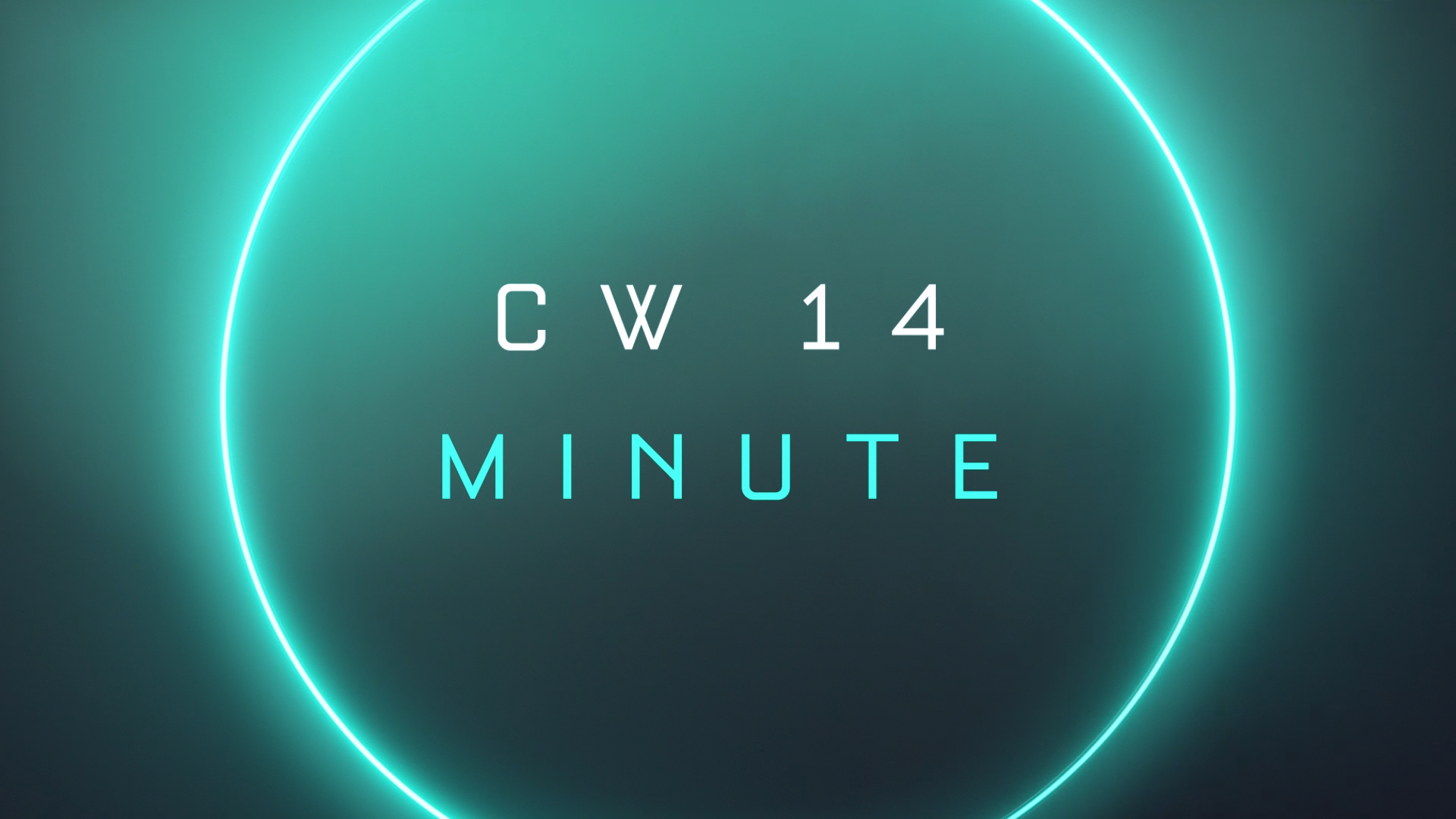 CW14 Minute