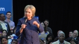 In Birmingham, Clinton touts foreign policy, says Trump should be more careful (video)