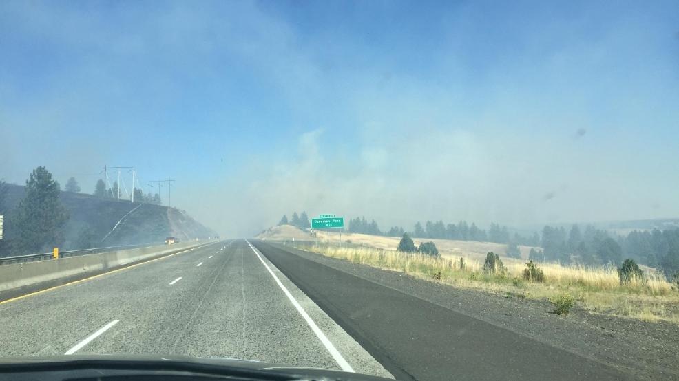I-84 back open after wildfire shuts it down in eastern Oregon | KBOI