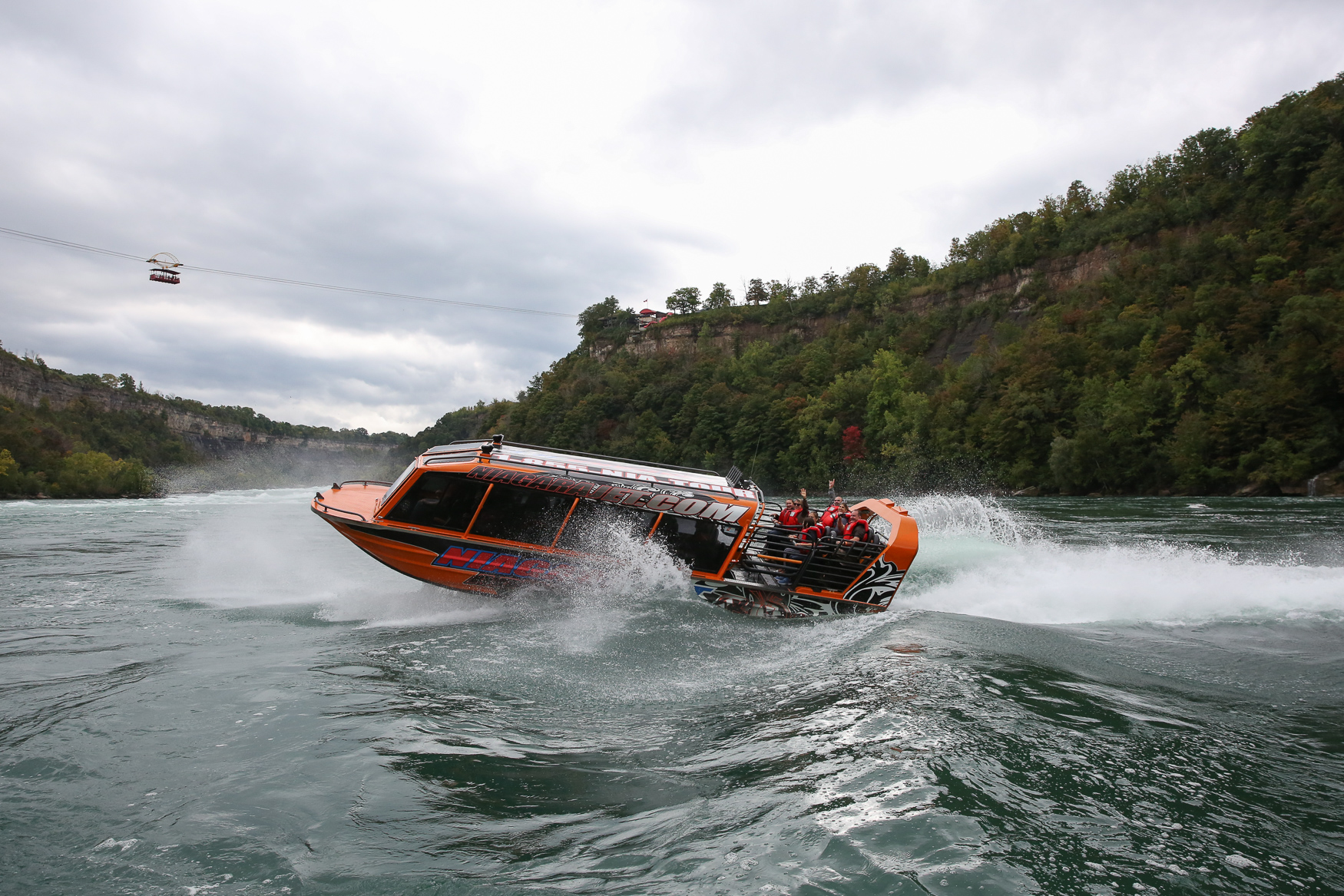 If you want to get your heart pumping, try Niagara Jet Adventures.{&amp;nbsp;}(Amanda Andrade-Rhoades/DC Refined)<br>
