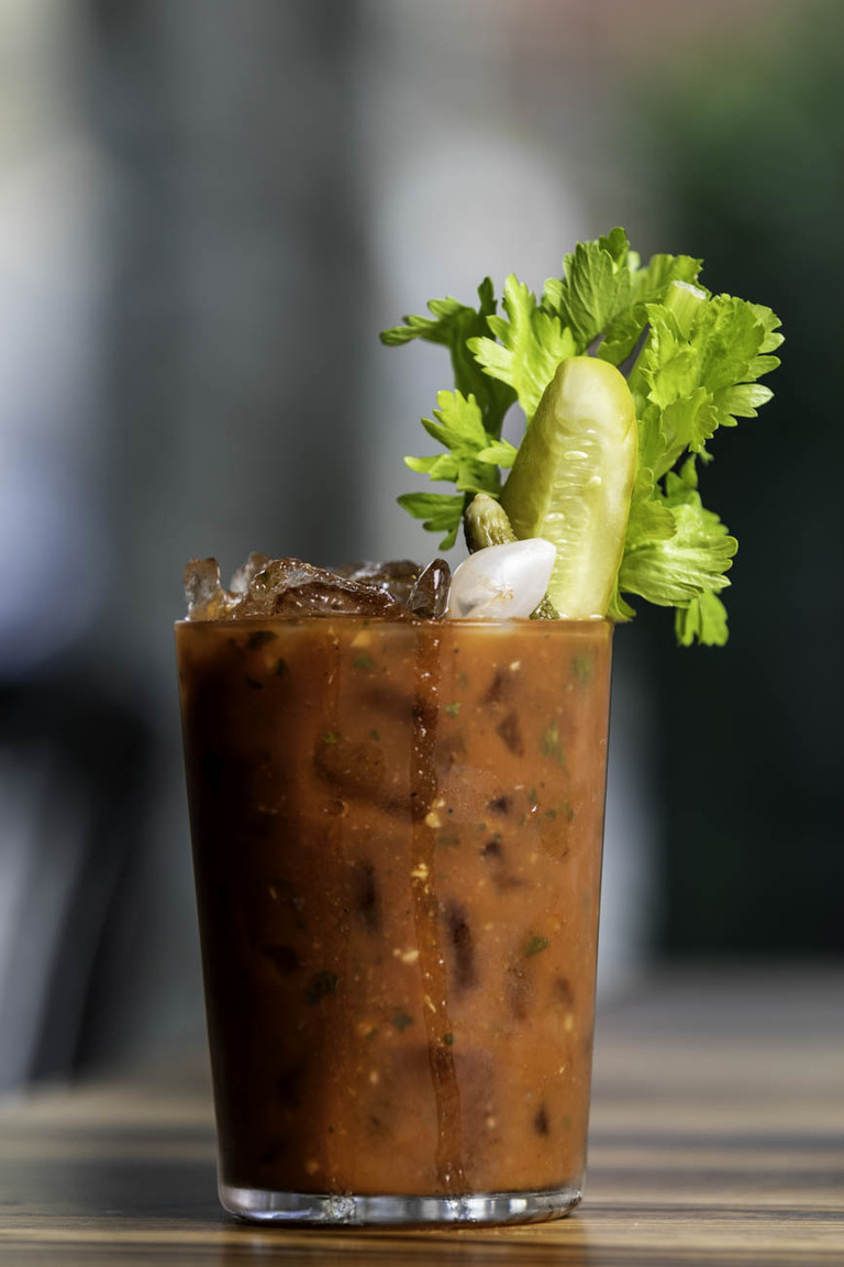 Call Your Bloody Mary: choice of spirit and house Bloody Mary mix / Image: Amy Elisabeth Spasoff // Published: 5.31.18