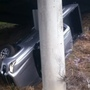 Man charged with DUI after crashing into concrete pillar on Marion County highway