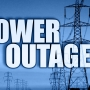 Power outages reported