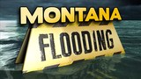 Montana interstate closed after water crumbles roadway