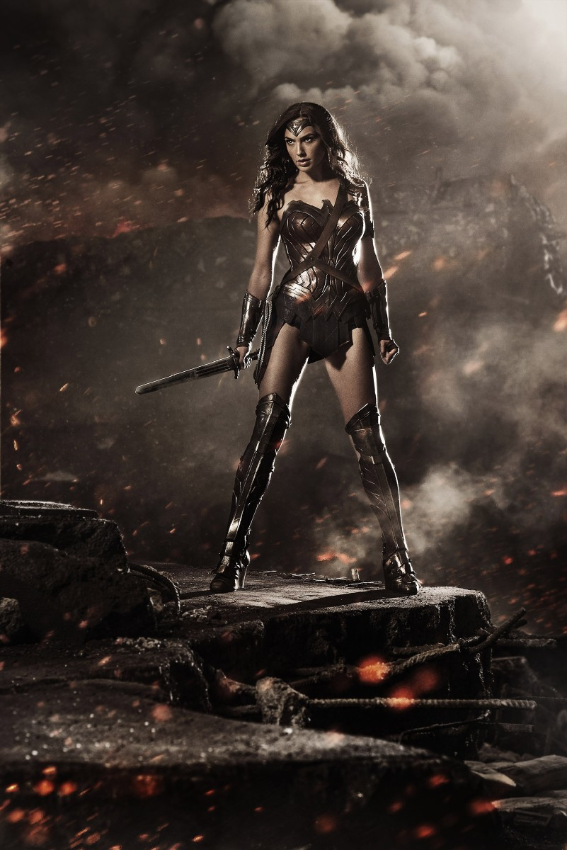 "This photo provided by Warner Bros. Pictures and DC Comics shows, Gal Gadot, as Diana Prince/Wonder Woman, in the action adventure film, ""Batman V. Superman: Dawn of Justice,"" a Warner Bros. Pictures release. (Clay Enos/Warner Bros. Pictures/DC Comics via AP)"