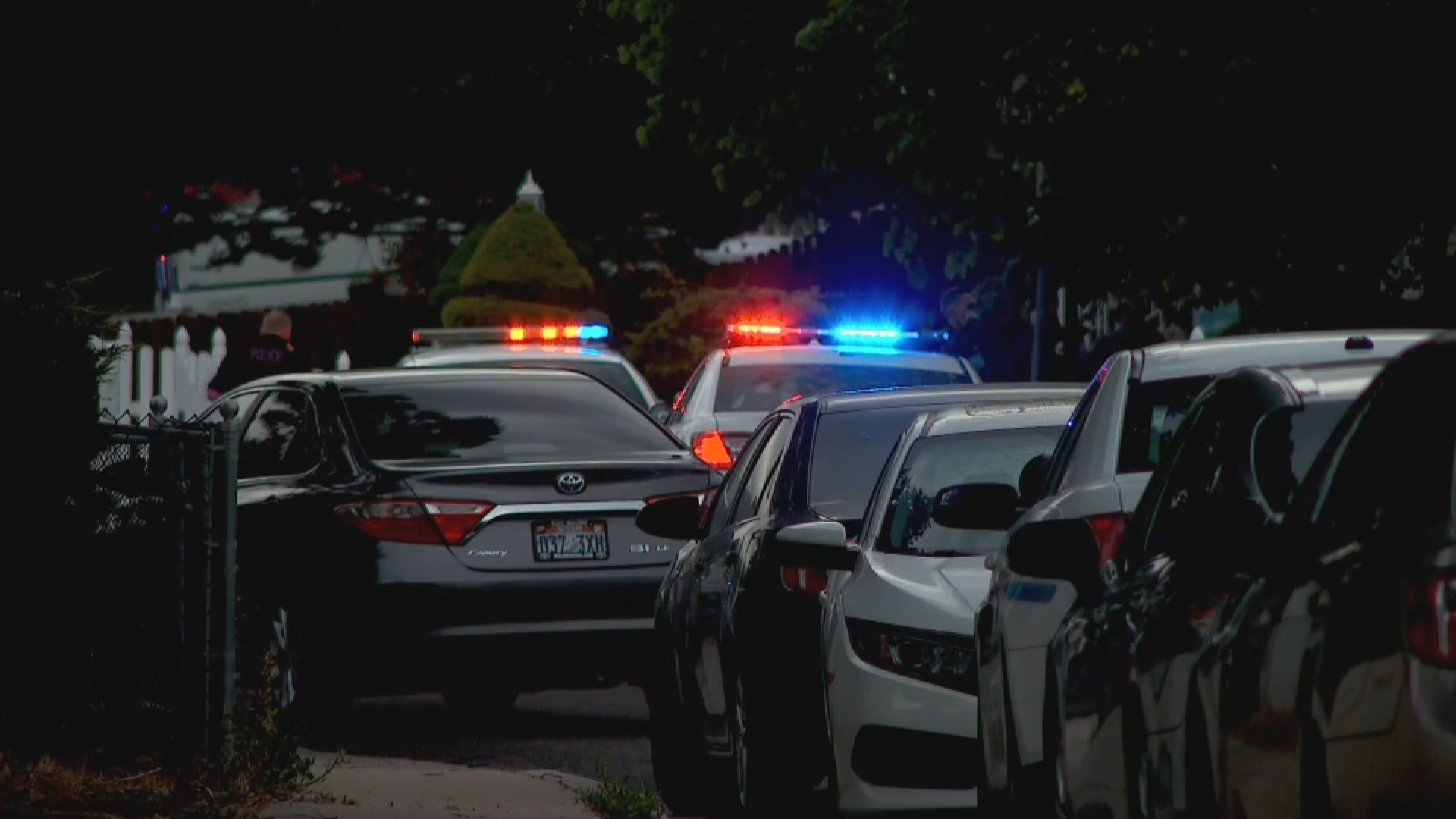 West Valley Police respond to the shooting death of 17-year-old Edwin Reyes on June 28, 2020. Police later turned the case over the West Jordan investigators, citing a conflict of interest. (Photo: KUTV)