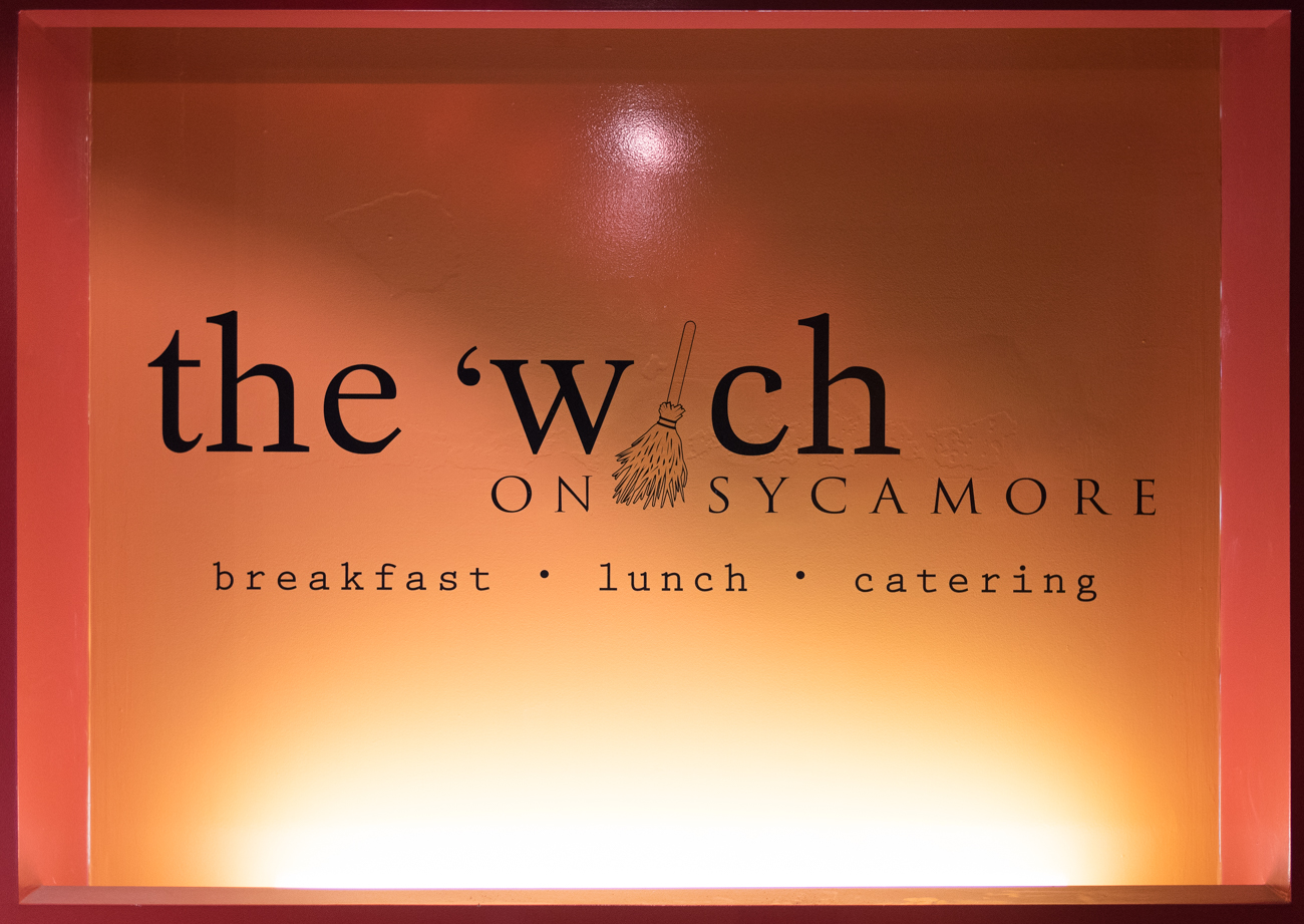 The 'Wich on Sycamore is a sandwich shop in the heart of the business district in Downtown Cincinnati. It features sandwiches of the day as well as menu mainstays that are perfect for your luncheon needs. It is also notable for it's unique, masterfully-done fantasy mural in its dining room. ADDRESS: 425 Sycamore St, Cincinnati, OH 45202 / Image: Phil Armstrong, Cincinnati Refined / Published: 1.1.17