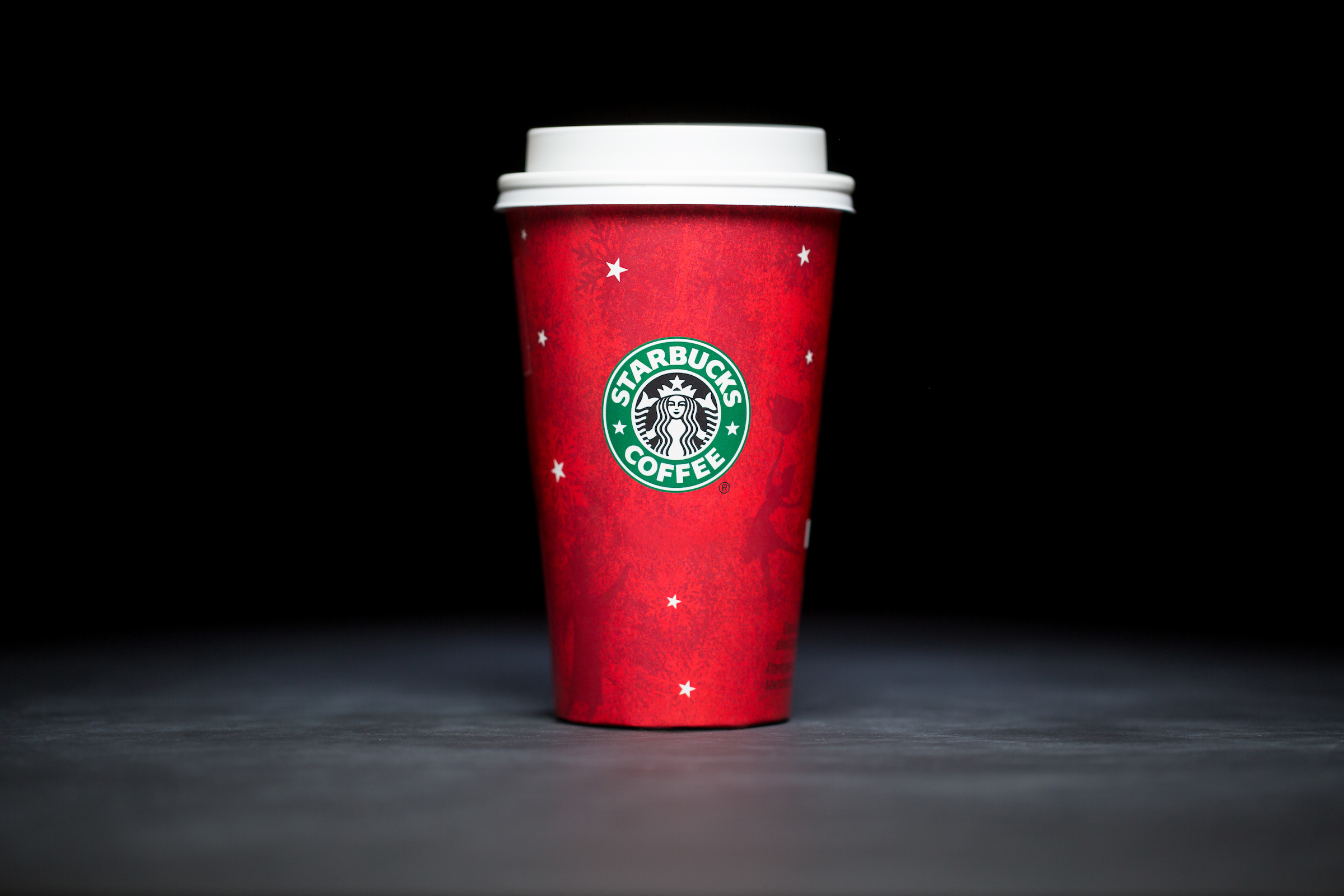 2003: For 20 years, Starbucks have released a range of holiday cup designs, most of them based around their world famous red cup. It's not easy to find the very first Starbucks holiday cups, which made their debut in stores in 1997. Few were saved, and electronic design files were lost in an earthquake in 2001. Even an Internet search is unyielding, with the cups having made their arrival long before the first selfie. But, we have them here! Click on for a photos of all 20 holidays cup designs. (Image: Joshua Trujillo/Cover Images)