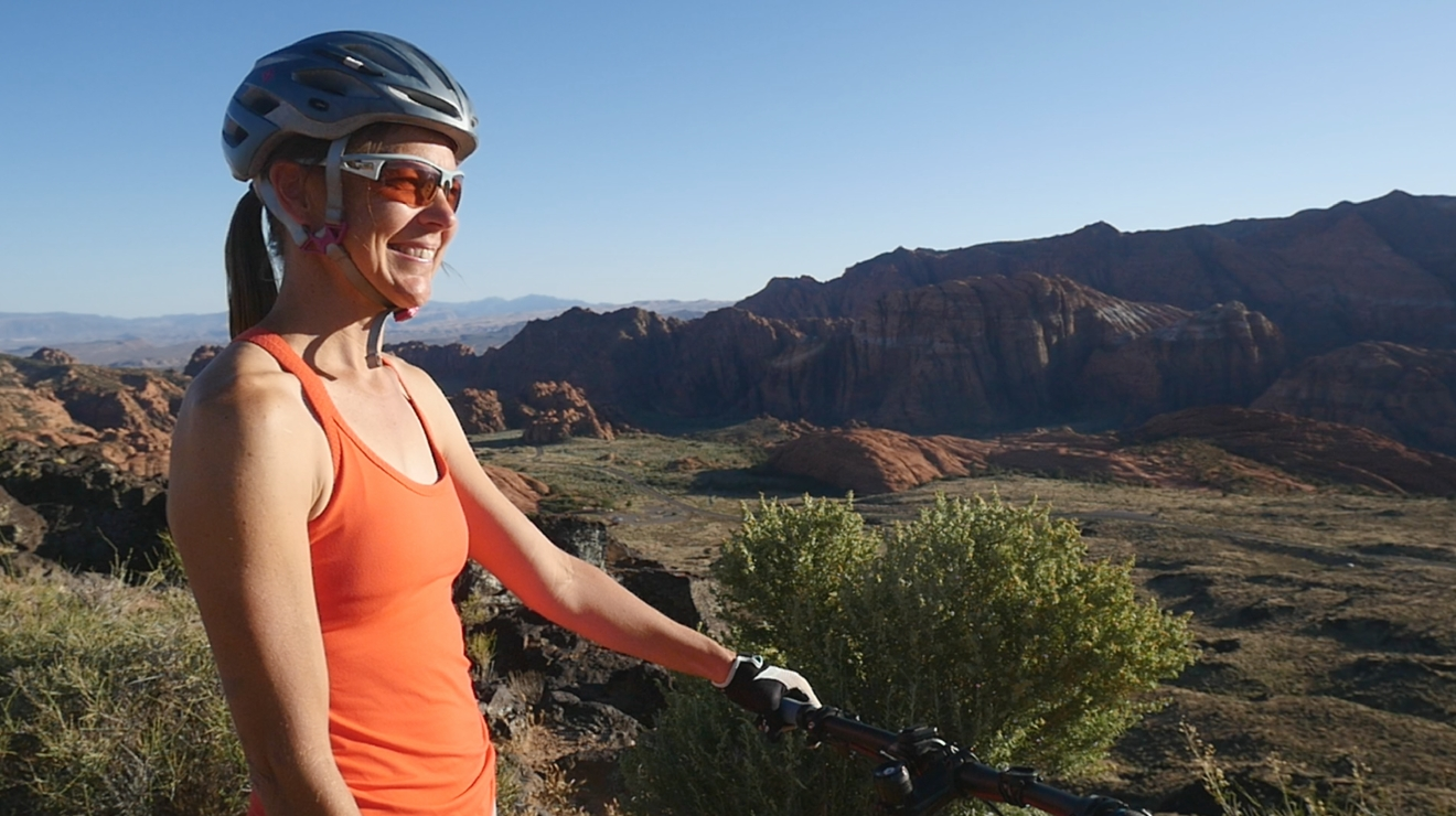 Snow Canyon Biker Woman (Release Signed).png