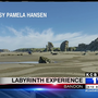 Circles in the Sand: Labyrinth experience appears on beach in Bandon
