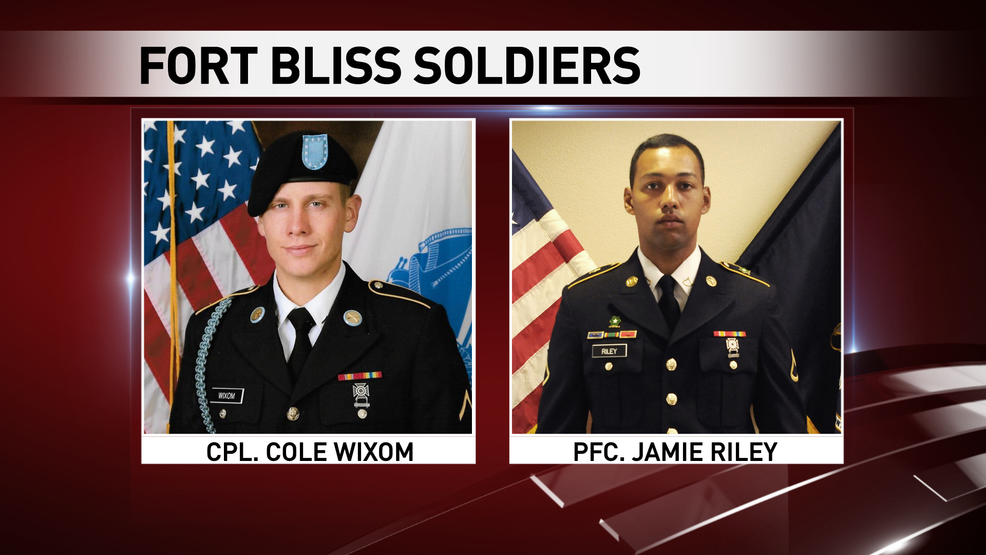 Fort Bliss officials identify 2 soldiers who died in exercise
