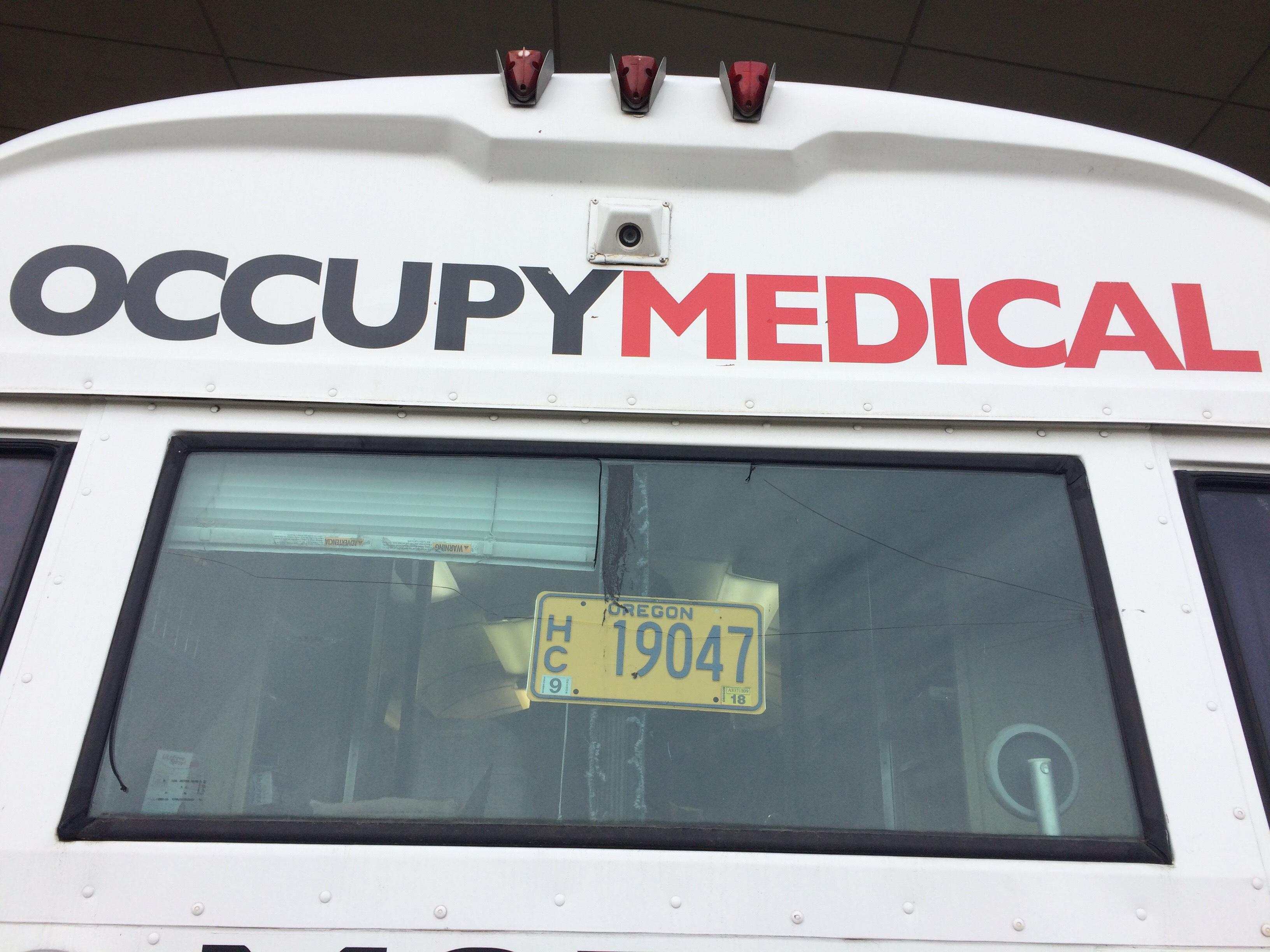 Occupy Medical offers free flu shots to those in need with a mobile clinic at Washington Jefferson Park in Eugene.