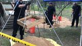 Murder tip leads police to shallow grave