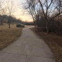 Plastic wrap stretched across popular Omaha biking trail