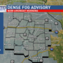 NWS issues Dense Fog Advisory for mid-Missouri counties