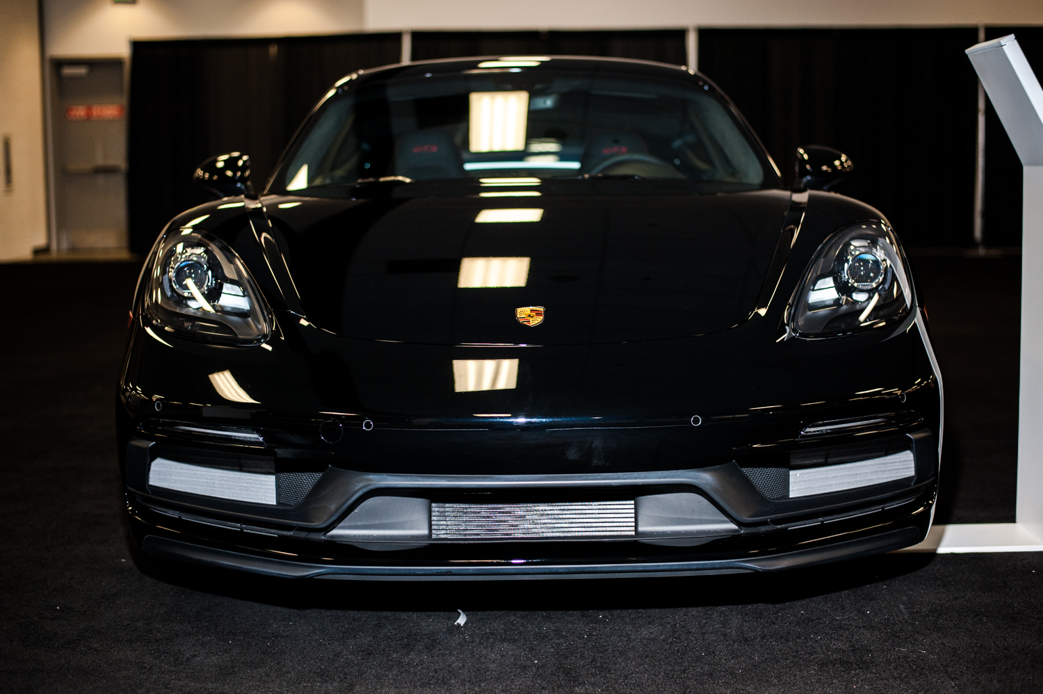 Porsche 718 Cayman GTS - $80,700+. The Seattle International Auto Show{ }showcases all that's new in cars, trucks, exotics, super cars, electrics and all the latest models from the world's automobile makers. We scoured the place for the most expensive vehicles we could find - and aye caramba - some of these are literally the cars of our dreams. The Auto Show runs Nov. 9-12, 2018 at CenturyLink Field Event Center. (Image: Elizabeth Crook / Seattle Refined)