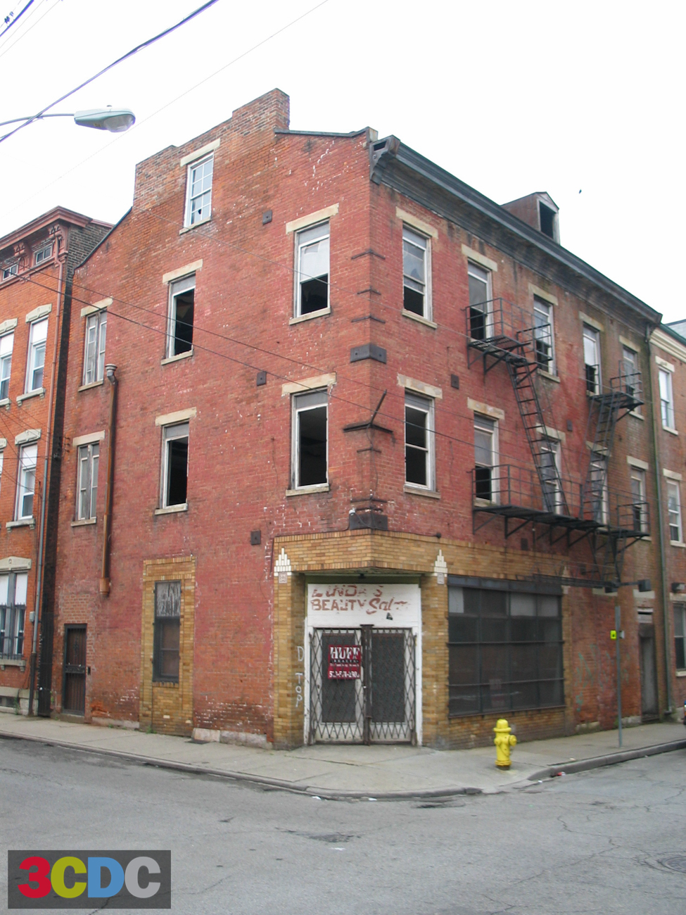 [BEFORE] LOCATION: Corner of 14th and Republic Streets (Over-the-Rhine) / IMAGE: Courtesy of 3CDC
