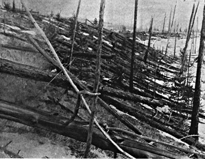 A mysterious explosion near the Podkamennaya Tunguska River on June 30, 1908, flattened some 500,000 acres of Siberian forest. Scientists believe the explosion could have been as strong as 20 megatons of TNT. No cause has yet to be determined.