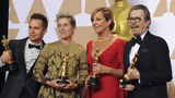 GALLERY | 2018 Oscar winners show off their hardware