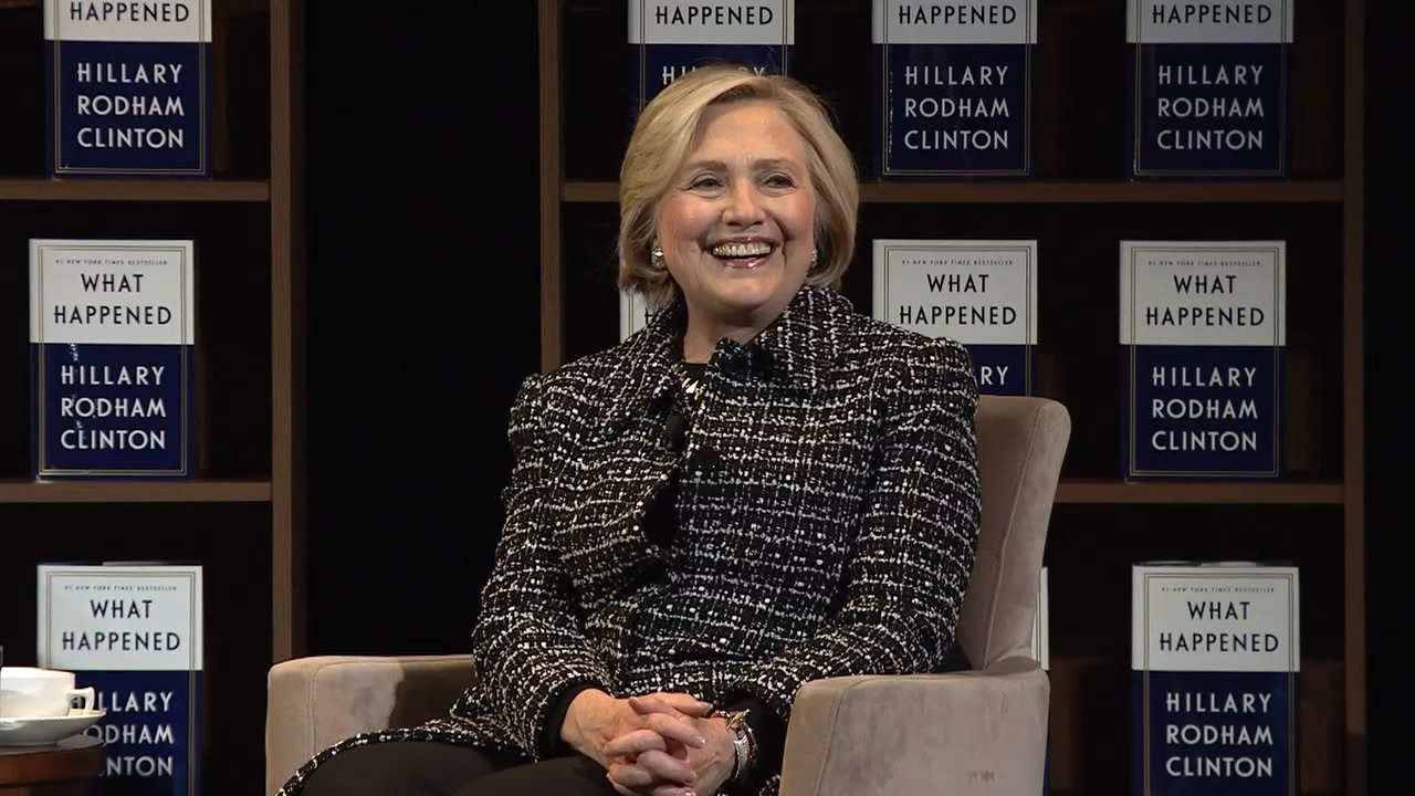 Former presidential candidate Hillary Clinton came through Seattle Monday night to pull back the curtain on her life in politics, share mistakes made in her presidential run and show how people can be a force for change. She spoke to a sold-out crowd at the Paramount Theater. (Photo: KOMO News)